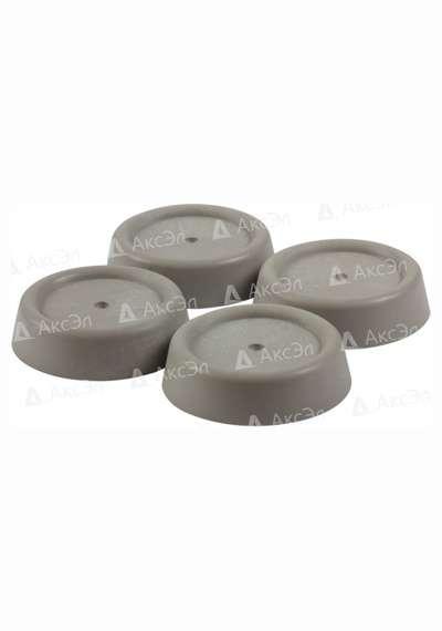 CMA 13G.2 - CMA-13G Ozone Антивибрационные подставки для стиральных машин и холодильников, серые, круглые