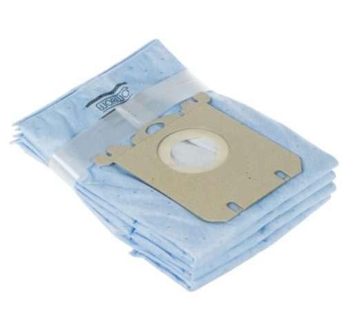 ELMB01AO 3str 1 500x483 - ELMB 01 AO Комплект пылесборников противозапаховые 4шт+фильтр; Electrolux,Philips WOR-BAG