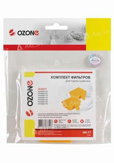 HR 77.4 - HR-77 Комплект фильтров Ozone для робота-пылесоса iRobot ROOMBA 700 серии, 2 шт.