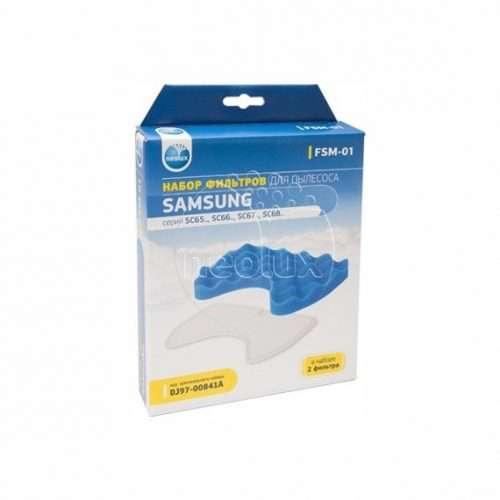 thumb 2078 product big 1 500x500 - FSM-01 NEOLUX Набор фильтров для пылесосов SAMSUNG серий SC65,66,67,68...(2 фильтра)